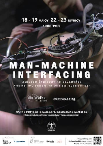 Man-Machine Interfacing workshop at Vitruvian Thing