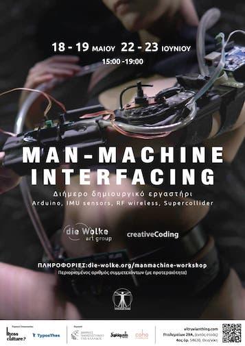 Man-Machine Interfacing workshop at Vitruvian Thing